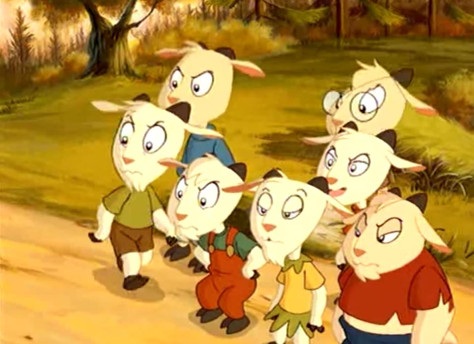 Vuk i sedam kozlica