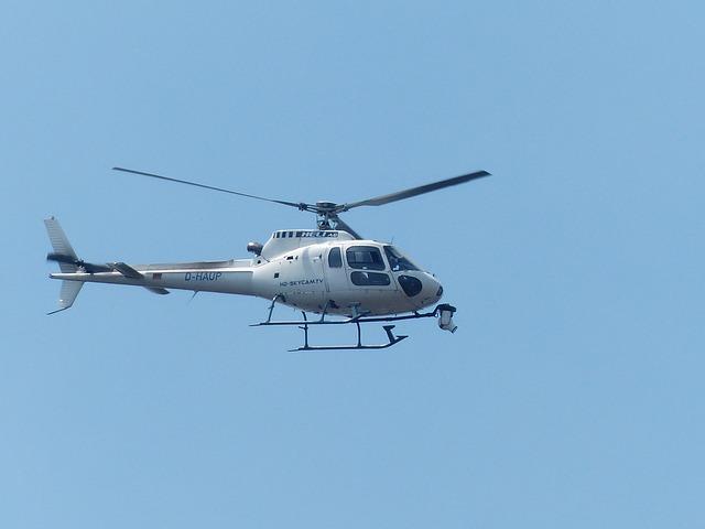 prijevozna sredstva - helikopter
