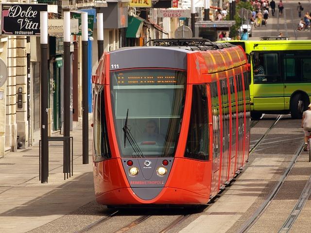 prijevozna sredstva - tramvaj