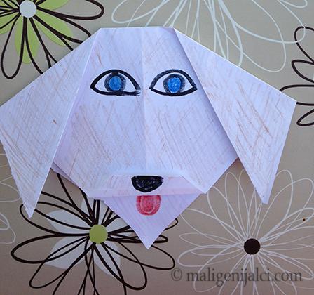 Origami: pas