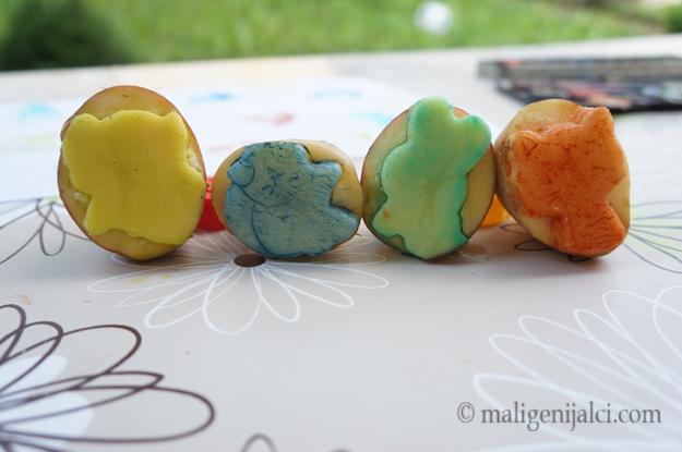 Pečati od krumpira