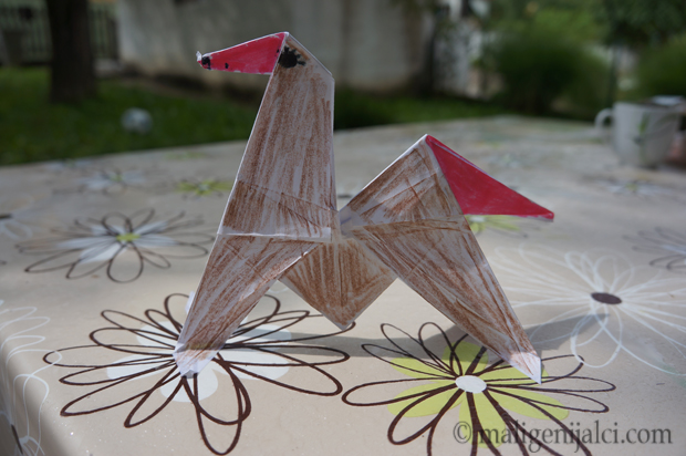 Origami: konj