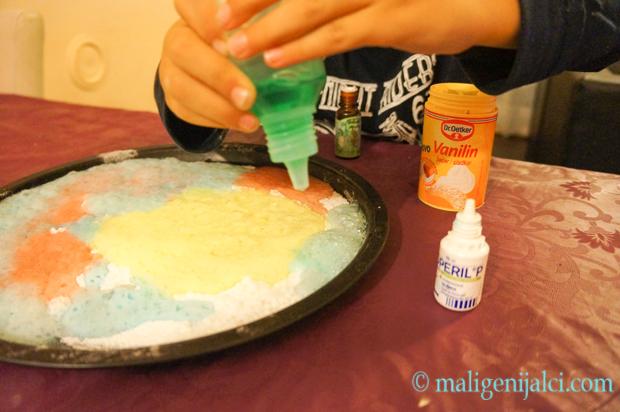 Soda bikarbona i ocat