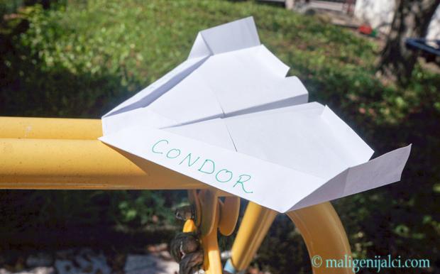 Avion od papira: Condor