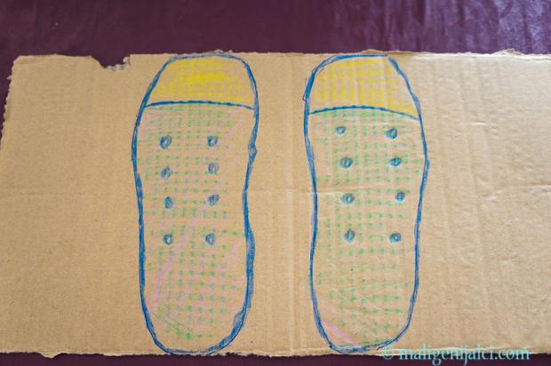 Učim vezati cipele