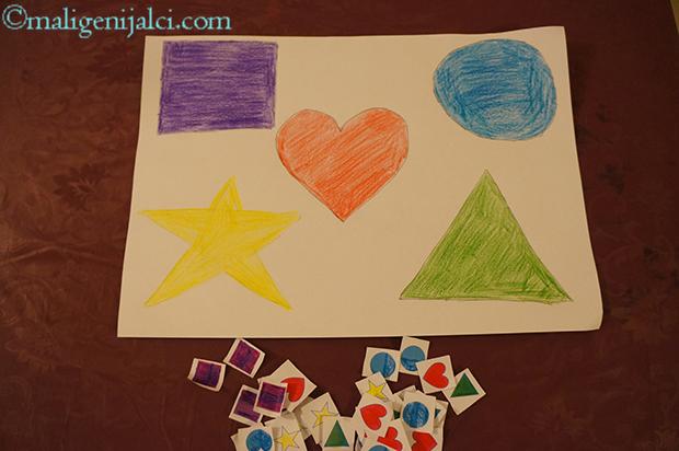 Učim oblike i boje