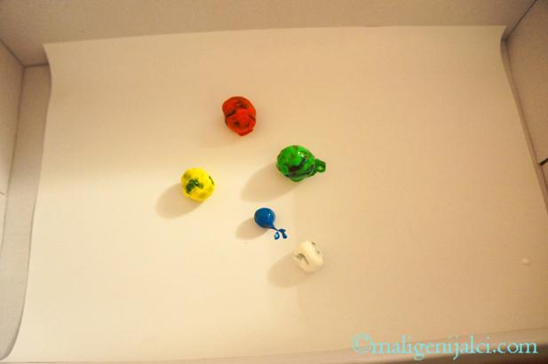 Slikanje kuglicama