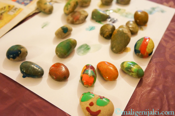 Oslikavanje kamenčića