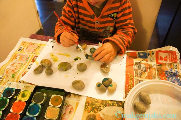 oslikavanje kamena