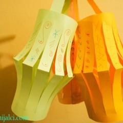 Izradite lampione od papira