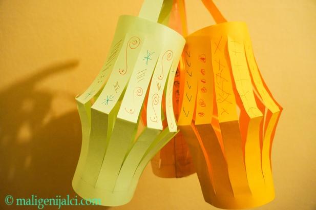 Lampioni od papira