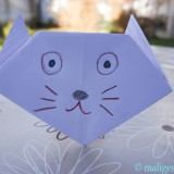 Origami: mačka
