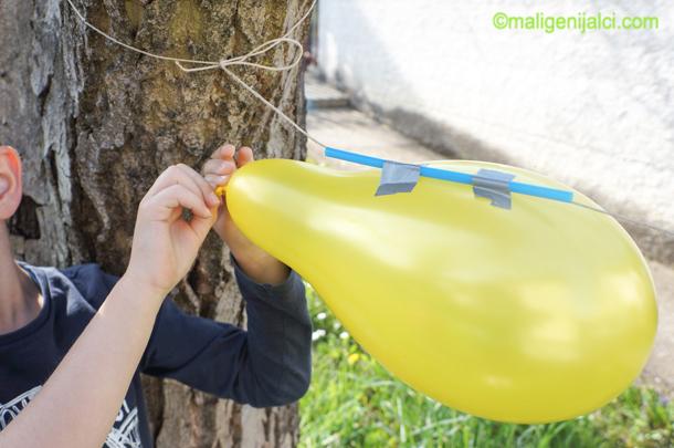 Raketa od balona