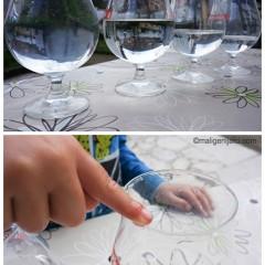 Kako nastaje zvuk, eksperiment s čašama, vodom i prstom