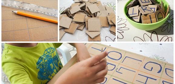 Upoznajemo slova uz ploču od kartona