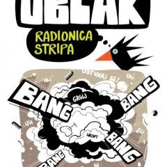 "Najava radionice stripa ""Oblak"" pod vodstvom Davora Šunka"