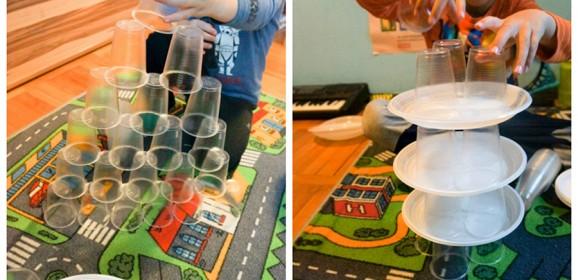 Igrajmo se, gradimo i učimo uz plastične čaše
