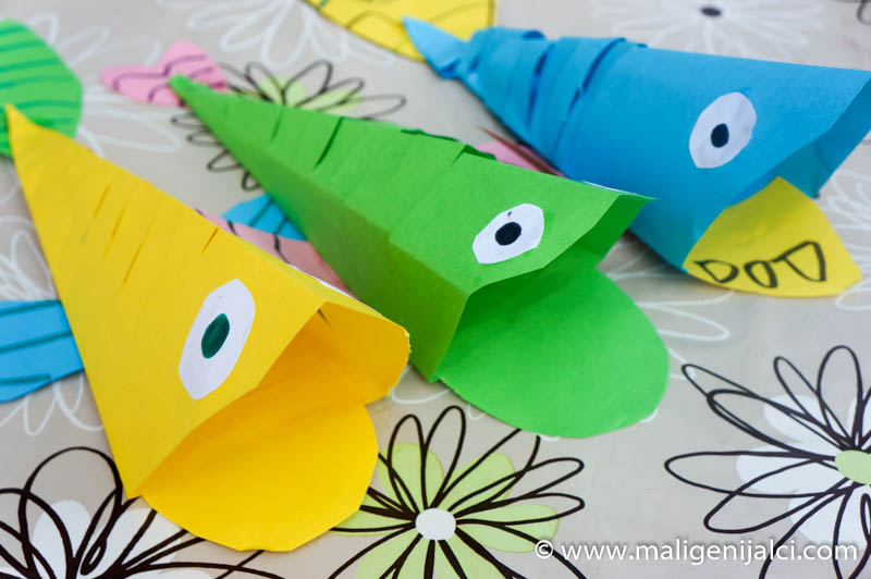 riba od papira