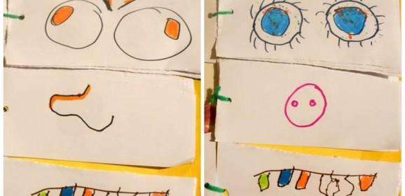 Izradite knjigicu smiješnih faca