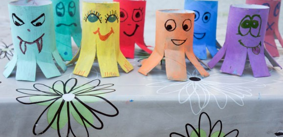 Izradimo hobotnicu od papirnatih rola